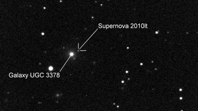 Une Néo-Brunswickoise de 10 ans découvre une supernova et établit un record