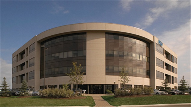 Les bureaux de Research in Motion à Waterloo en Ontario.