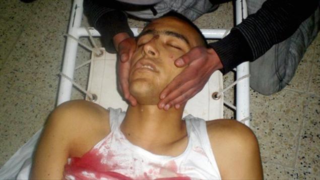 Un manifestant tué lors des affrontements avec la police à Thala, le 9 janvier.