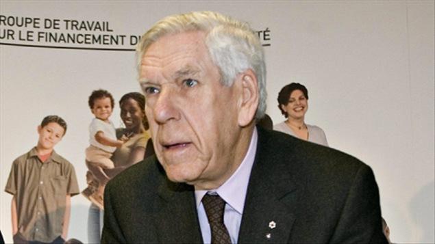 Claude Castonguay en 2008