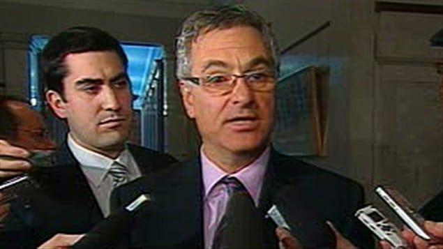 Le leader parlementaire du gouvernement québécois Jean-Marc Fournier