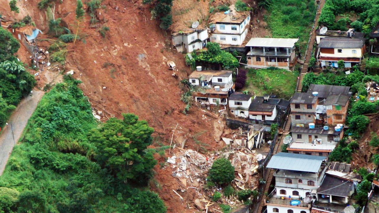 Glissement de terrain à Nova Friburgo