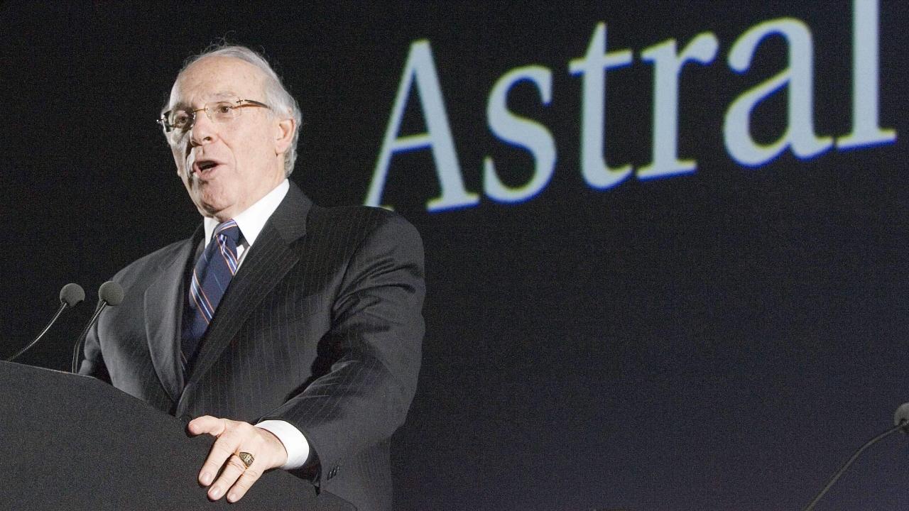 Le président d'Astral, Ian Greenberg