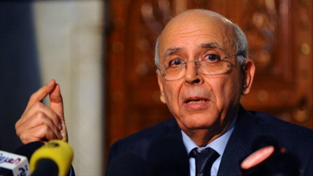 Mohamed Ghannouchi, premier ministre tunisien