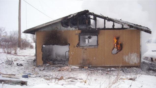 L'incendie d'une maison de la Première Nation St. Theresa Point a causé la mort d'un bébé.