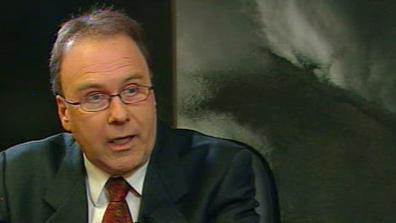 Marc Bellemare en entrevue avec le journaliste Alain Gravel de l'émission Enquête