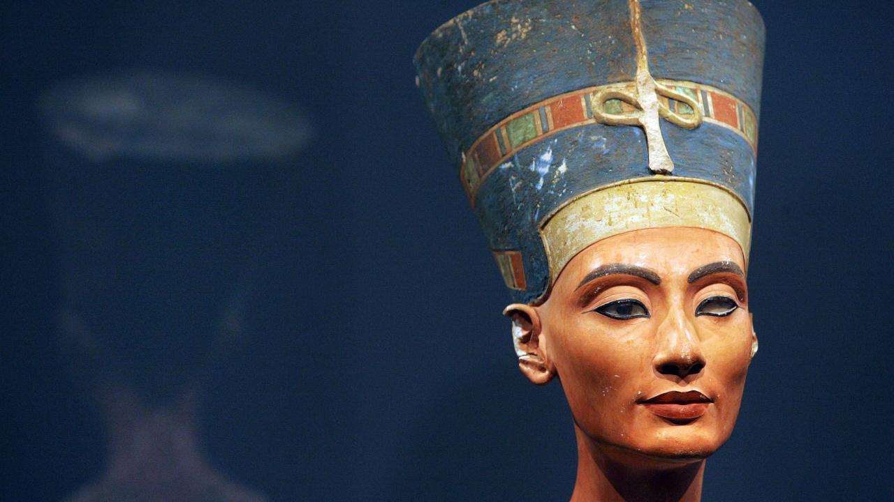 Le buste de la reine Nefertiti