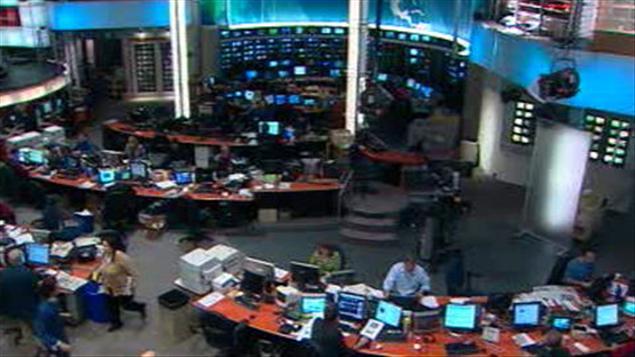 Le centre de l'information de Radio-Canada