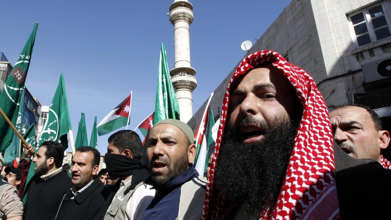 Manifestants à Amman