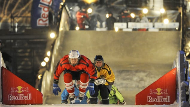 Le Red Bull Crashed Ice, à Québec