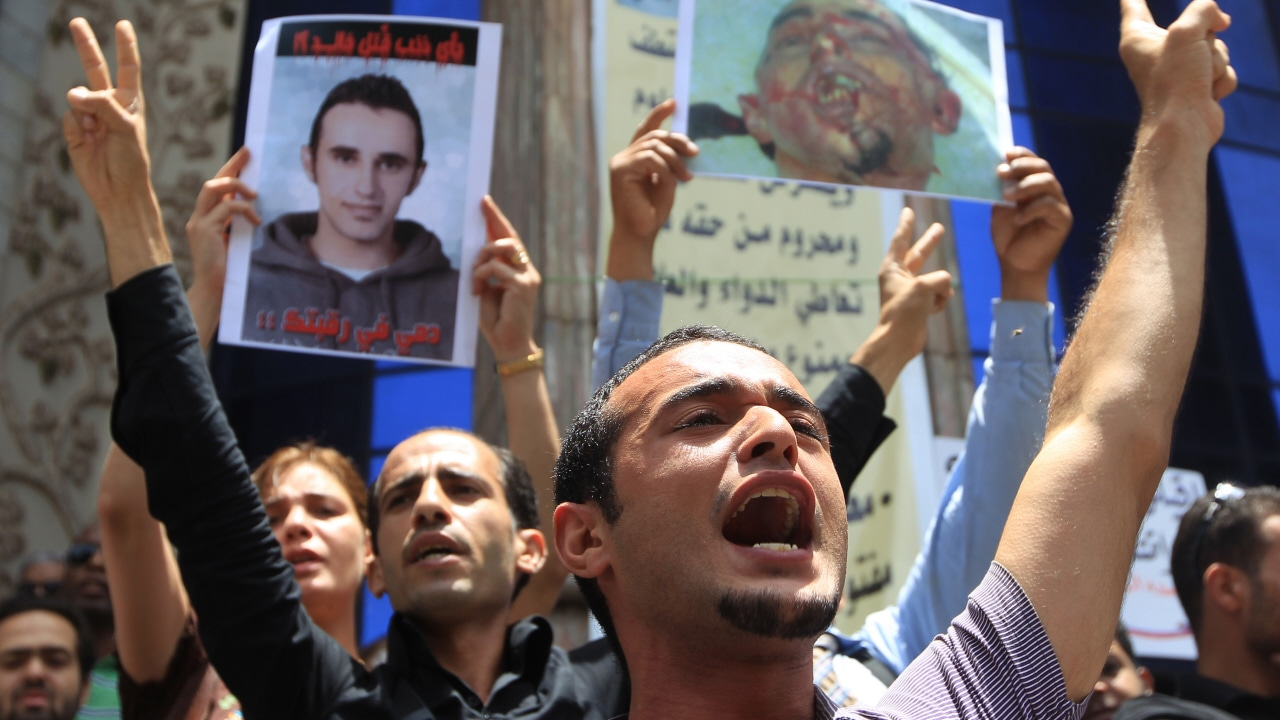 Des militants du Mouvement des jeunes du 6avril en juin 2010 au Caire