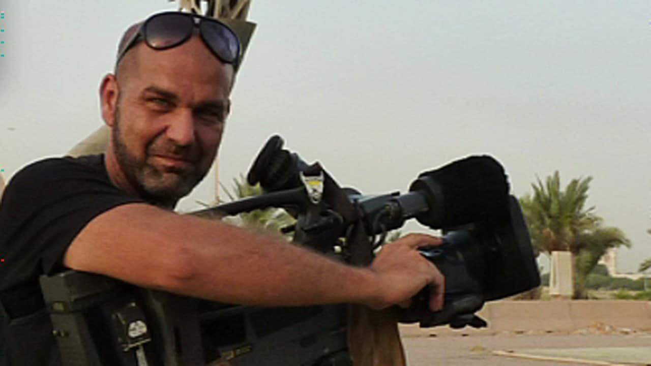 Le caméraman Sylvain Castonguay