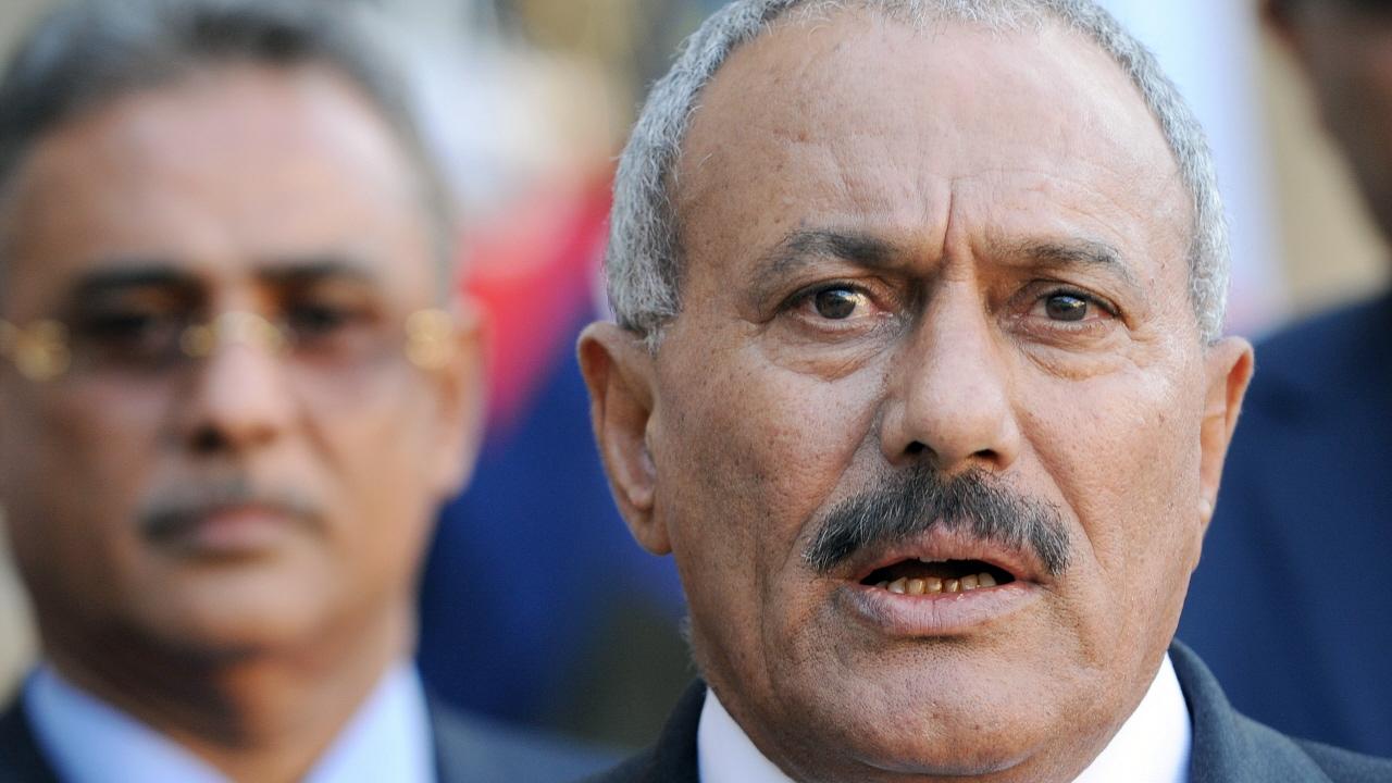 Le président yéménite Ali Abdallah Saleh