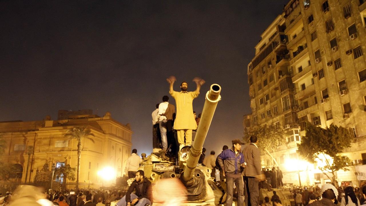 Manifestants au Caire