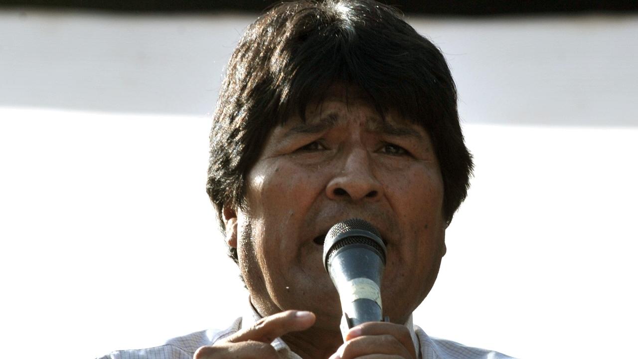 Le président bolivien, Evo Morales