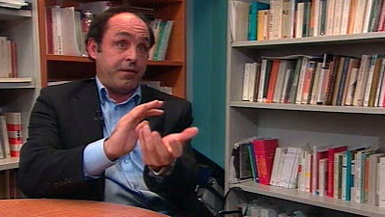 Yves Boisvert, enseignant à l'ENAP