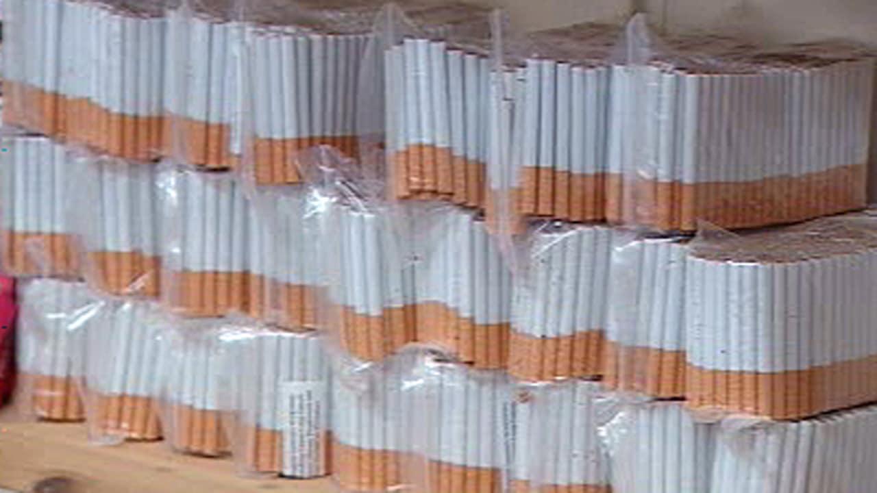 Cigarettes de contrebande