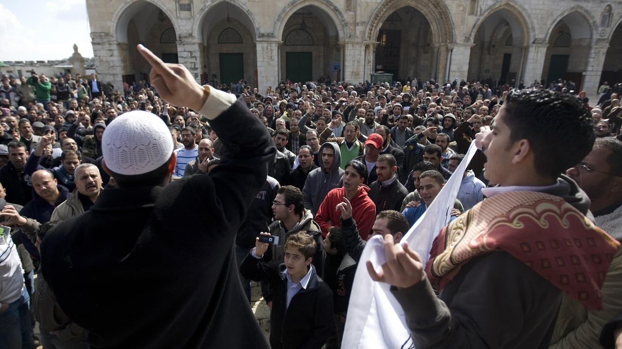 Manifestation de joie dans les rues de Jérusalem