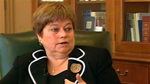 Ruth Veillet, juge responsable de la région de Montréal à la Cour du Québec