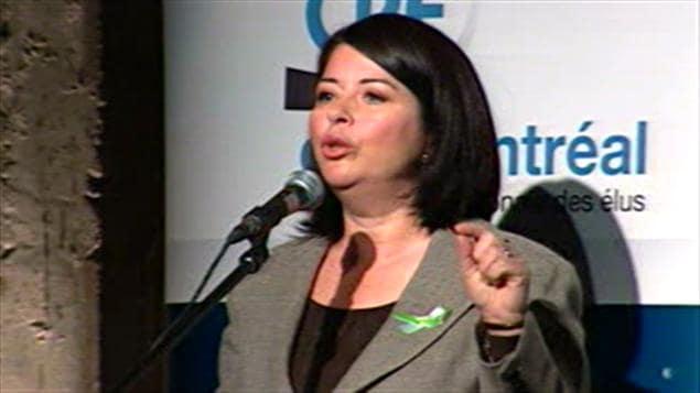 Line Beauchamp, ministre de l'Éducation
