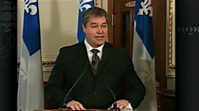 Yves Bolduc, ministre de la Santé et des Services sociaux