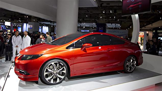 Le coupé Honda Civic Si