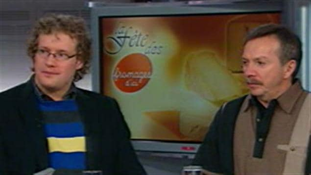 Simon-Pierre Bolduc et Gilles Blackburn