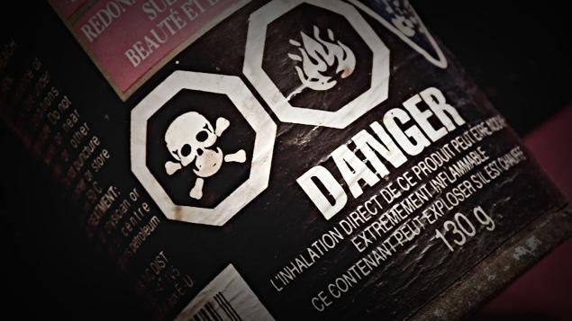 Danger, poison