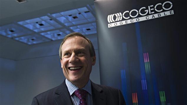 Le PDG de Cogeco, Louis Audet