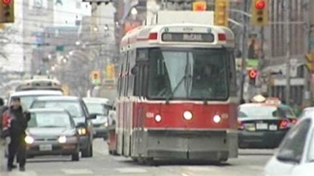 Trawmay de la Commission des transports de Toronto