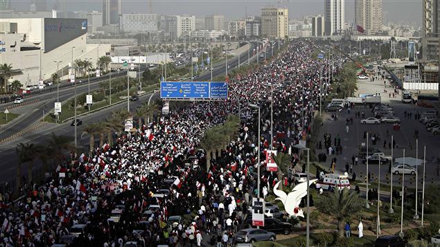 Manifestation de l'opposition à Manama (archives)