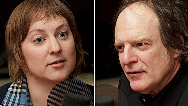 ©Radio-Canada/Christian Côté | <b>Sarah Fortin et Stephen Faulkner</b>