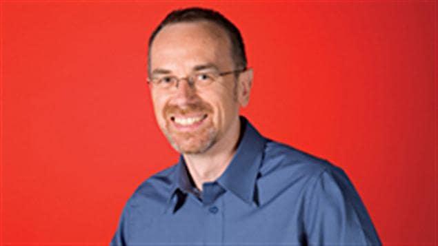 Le conseiller linguistique de Radio-Canada, Guy Bertrand