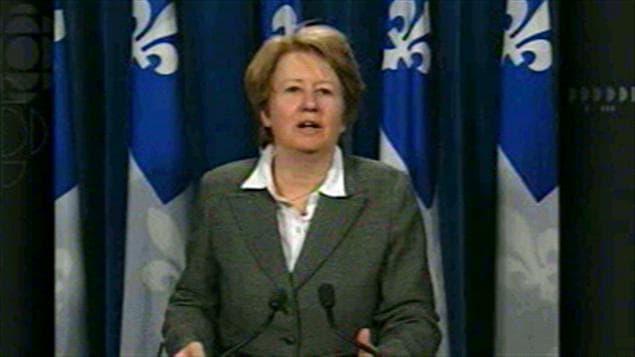 La porte-parole de l'opposition du Parti québécois en matière de santé, Agnès Maltais