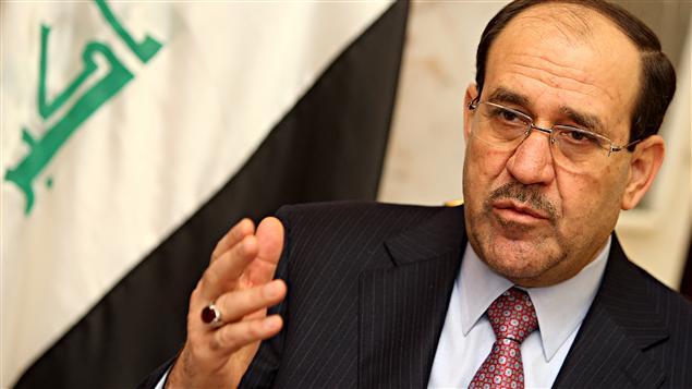 Le premier ministre irakien Nouri al-Maliki