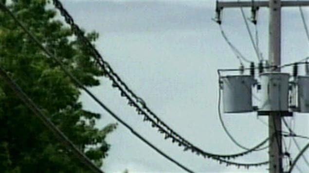 Ligne de distribution d'électricité