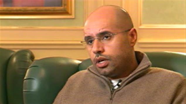 Seif al-Islam, fils du dictateur libyen Mouammar Kadhafi