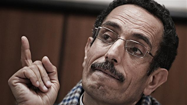 Abdelhafez Ghoqa, porte-parole du Conseil national de transition