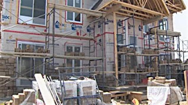 Une maison en construction (archives)