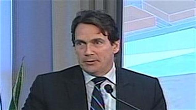 Pierre Karl Péladeau, président et chef de la direction de Quebecor