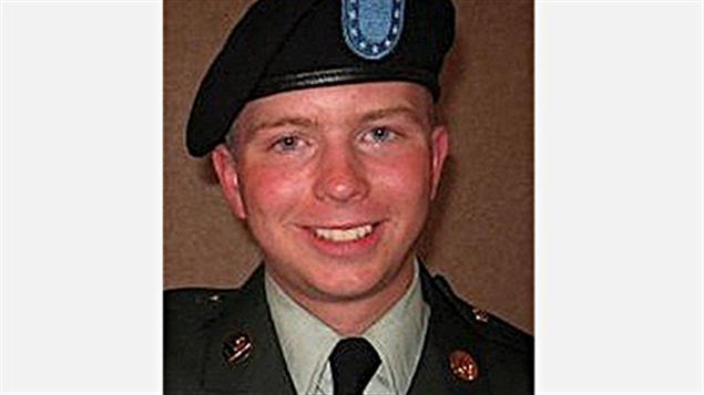 Le soldat américain Bradley Manning, accusé dans l'affaire WikiLeaks