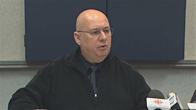 Claude Patry, candidat du NPD dans Jonquière-Alma