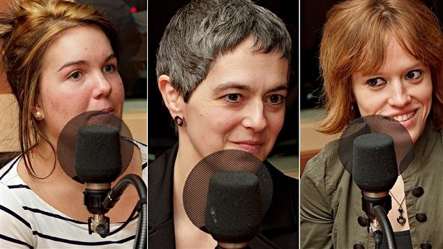 ©Radio-Canada/Christian Côté | <b>Valérie Tourangeau, Diane Leduc et Nancy Duguay</b>