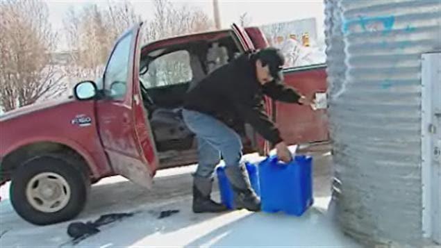 Les résidents de Garden Hill n'ont pas accès à l'eau courante.