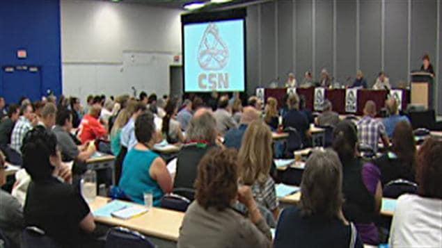 Le congrès de la CSN