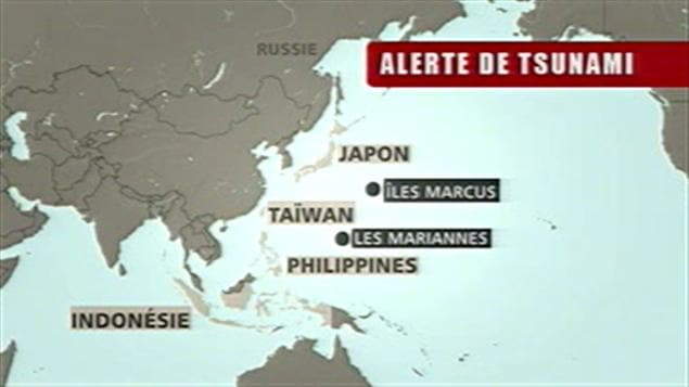Alerte de tsunami