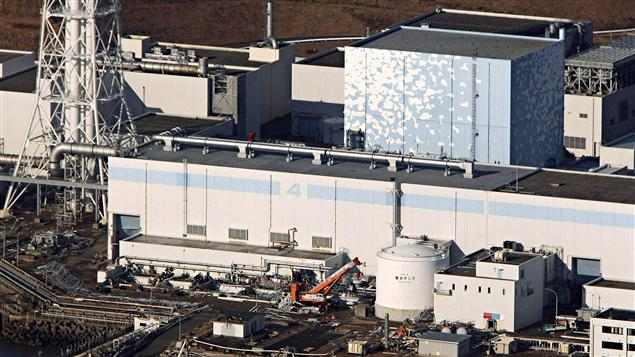 La centrale nucléaire de Fukushima, endommagée après le séisme du 11 mars 2011