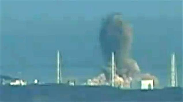 Explosion à la centrale Fukushima au Japon