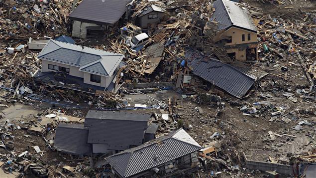 Tout est à refaire dans les régions dévastées par le tsunami au Japon.