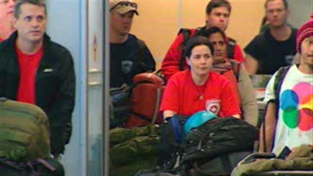 Une équipe d'aide canadienne est rentrée du Japon plus vite que prévu
